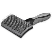 Well & Good Black Self-Cleaning Slicker Dog Brush
