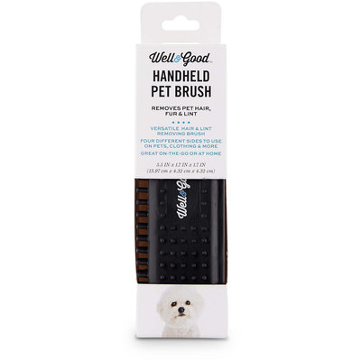 Well & Good Handheld Pet Brush