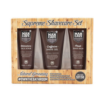 ManCave Supreme Shave Care Set, Multicolor