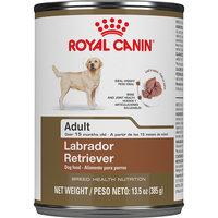 Royal Canin Breed Health Nutrition Labrador Retriever Loaf In Sauce Dog Food, 13.5 oz, Case of 12