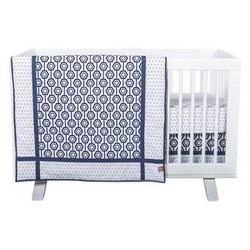 Trend Lab Hexagon 3 Piece Crib Bedding Set