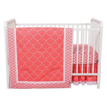 Trend Lab Shell 3 Piece Crib Bedding Set