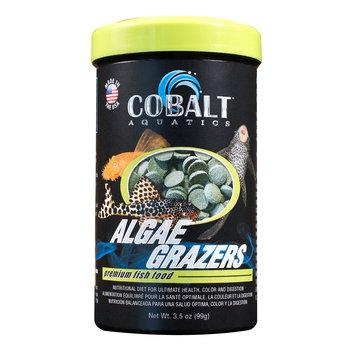 Cobalt Aquatics Algae Grazers Premium Fish Food - 3.5 oz