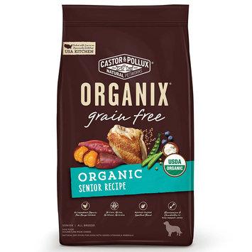 Organix Grain Free Senior Dry Dog Food, 4lbs