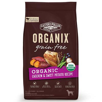 Organix Grain Free Chicken and Sweet Potato Dry Dog Food, 4lbs