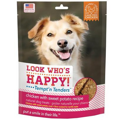 Look Who's Happy Tempt'n Tenders, Chicken with Blueberry Recipe, 5 Oz