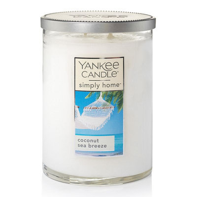 Yankee Candle simply home Coconut Sea Breeze 19-oz. Candle Jar, White