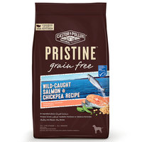 Pristine Grain Free Wild Caught Salmon & Chickpea Dry Dog Food, 4lbs