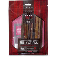 Good Lovin' Traditional Beef Bully Stick Dog Chew, 7-inch, Pack of 6