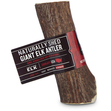 Good Lovin' Naturally Shed Giant Elk Antler Dog Chew, 4-5-inch