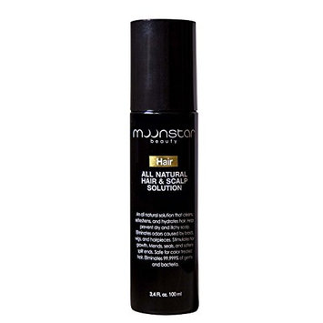 All Natural Hair Scalp Clean Germ Free Hair Mist Contains Solution