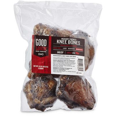 Good Lovin' Hickory Smoked Knee Bone Dog Chews, Pack of 5