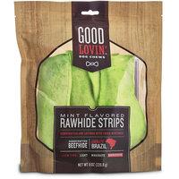 Good Lovin' Mint Flavored Rawhide Strip Dog Chews, 8 oz.