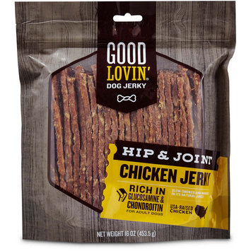 Good Lovin' Hip and Joint Chicken Jerky Adult Dog Treats, 16 oz.