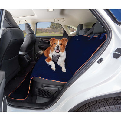 Good2Go Quilted Bench Seat Cover for Pets in Blue, 58