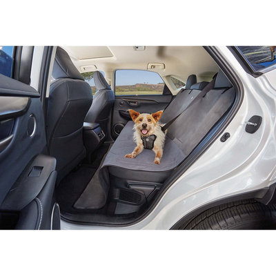 Good2Go Quilted Bench Seat Cover for Pets in Gray, 58