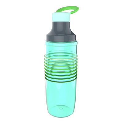 Zak Designs HydraTrak Chug 32oz Water Intake Calculator Bottle - Seafoam