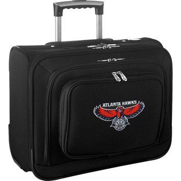 Denco Sports Luggage Atlanta Hawks Carry-on Laptop Overnight Rolling Bag