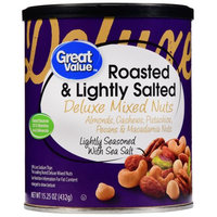 Great Value Roasted & Lightly Salted Deluxe Mixed Nuts