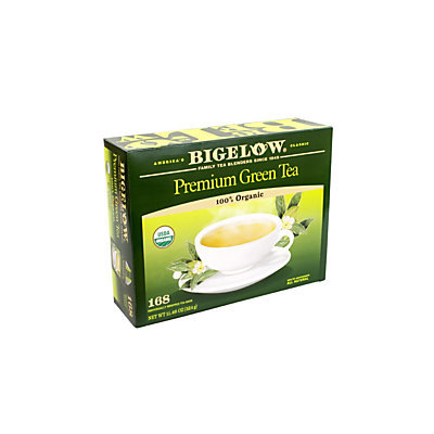 Bigelow Tea Bags, Premium Organic Green Tea, Pack Of 168