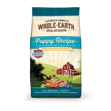 Merrick Whole Earth Farms Merrick - Whole Earth Farms 61185574 12 lbs Grain Free Healthy Puppy