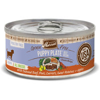 Merrick Classic Grain Free Beef Puppy Plate Canned Dog Food, 3.2 oz Case of 12