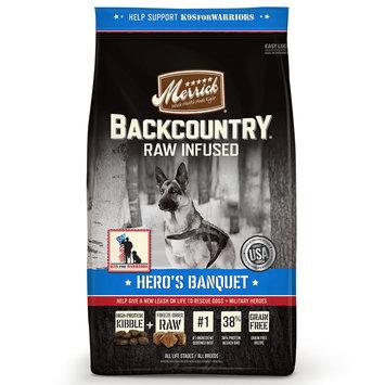 Merrick Backcountry Grain Free Hero's Banquet Dry Dog Food, 4lbs