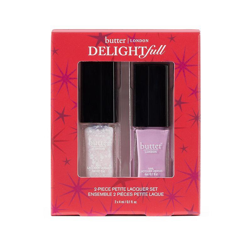 butter London Delightfull 2-pc. Petite Nail Lacquer Gift Set, Purple