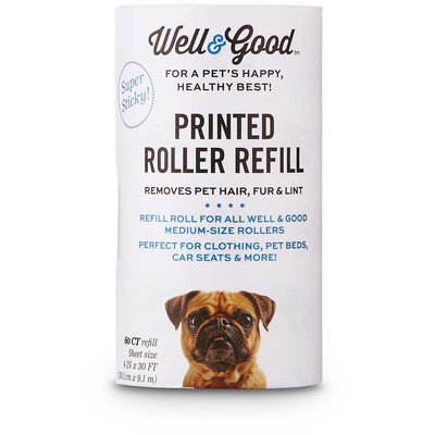 Well & Good Printed Roller Refill, 60CT