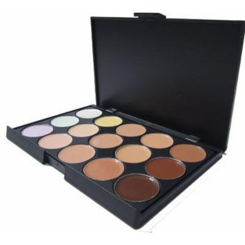 NEW!!! ML Collection Pro 15 Color Camouflage Concealer + FREE 2 Eye Brushes with cap
