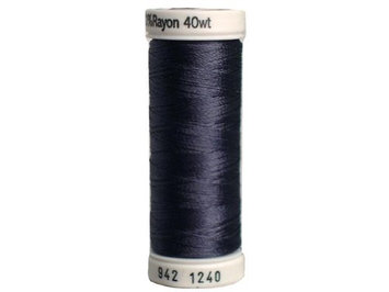 Sulky Rayon Thread 40wt 250yd Smokey Grey