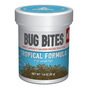 Hagen Fluval Bug Bites Granules for Small-Medium Tropical Fish - 1.59oz