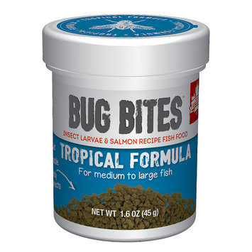 Hagen Fluval Bug Bites Granules for Medium-Large Tropical Fish 1.59oz