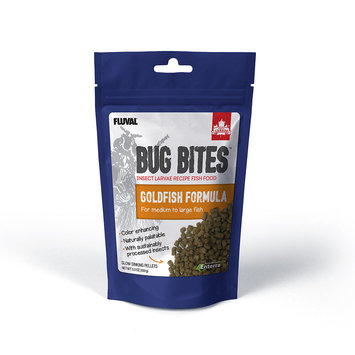 Hagen Fluval Bug Bites Pellets for Medium-Large Goldfish - 3.53oz