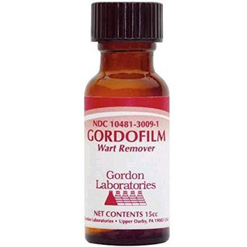 Gordon Laboratories Gordofilm Wart Remover Solution 15ml - Each by Gordon Laboratories
