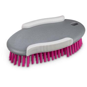 Well & Good Pink Oval Bristle Dog Brush