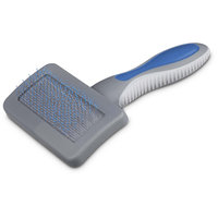 Well & Good Blue Cushion Slicker Dog Brush, Small