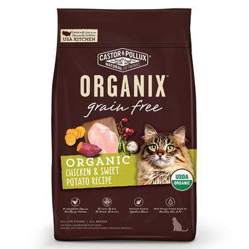 Organix Grain Free Chicken & Sweet Potato Recipe Cat Dry Food, 6 lb