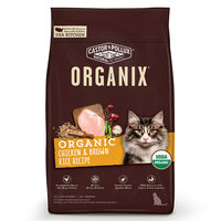 Organix Chicken & Brown Rice Recipe Cat Dry Food, 6 lb