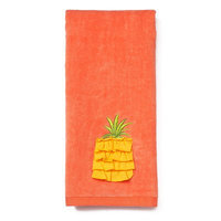 Pineapple Hand Towel, Pink