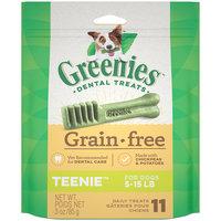 Greenies Grain Free Teenie Dental Dog Treats, 3 oz.