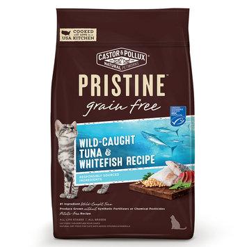 Pristine Grain Free Wild-Caught Tuna & Whitefish Recipe Cat Dry Food, 6 lb