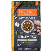 Natures Variety Instinct Raw Boost Grain Free Recipe with Real Chicken Dry Cat Food, 2 lbs.