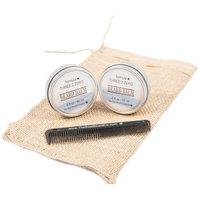 The Best Beard Company Premium Beard Balm Combination Kit, 4 pc