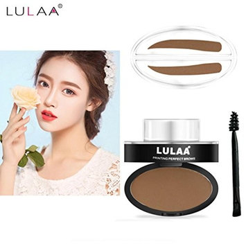 Eyebrow Powder Makeup, Natural Eyebrow Powder Makeup Brow Stamp Palette Delicated Shadow Definition