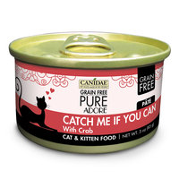 Canidae Grain Free Pure Adore Catch Me If You Can Cat Wet Food With Crab, 3 oz (18-pack)