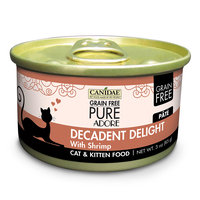 Canidae Grain Free Pure Adore Decadent Delight Cat Wet Food With Shrimp, 3 oz (18-pack)