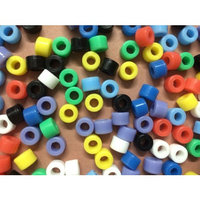 50 Pcs/bag Blue Color Small Type Dental Silicone Instrument Color Code Rings