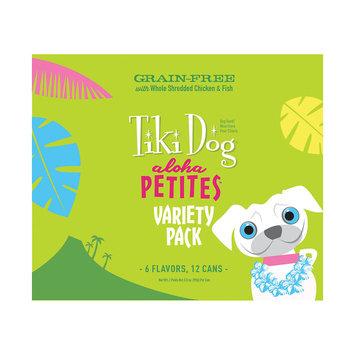 Tiki Dog Aloha Petites Variety Pack Wet Dog Food, 3.5 oz, Case of 12