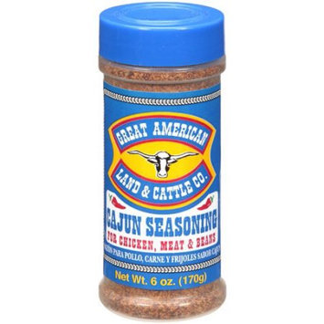 Great American Land & Cattle Co. Great American Land And Cattle Co. Cajun Seasoning, 6 oz